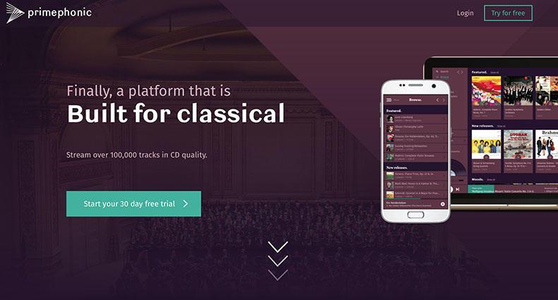Primephonic ra mắt dịch vụ nghe nhạc trực tuyến chất lượng cao