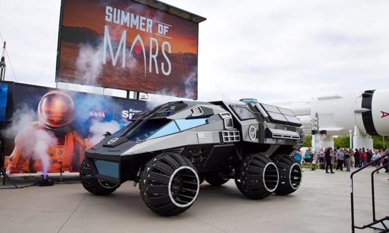 """Xế hộp Rover """"xịn đét"""" dành riêng cho Sao Hỏa"""