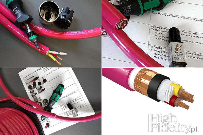 Furutech trình làng dây nguồn hi-end DPS-4 Limited Edition