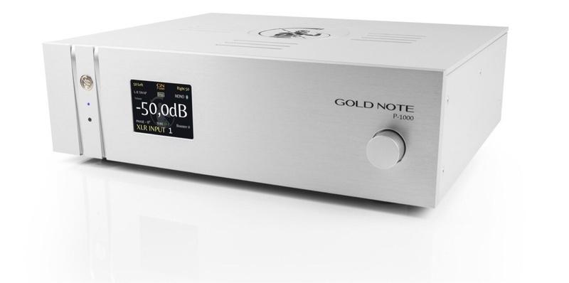 Gold Note giới thiệu Pre-ampli cao cấp Gold P-1000