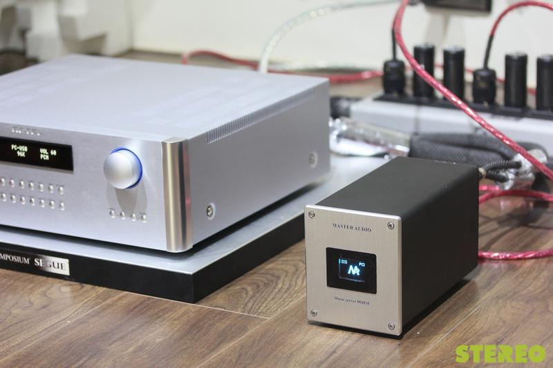 Master Audio MS9028M: Music server nội địa đầy ấn tượng