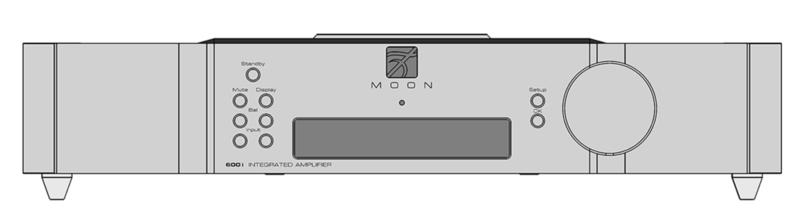 Simaudio Moon công bố ampli tích hợp 600i v2