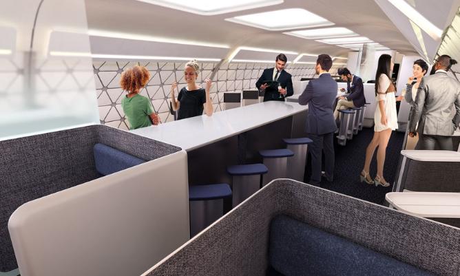 Bạn sẽ chẳng muốn bước chân xuống mặt đất với máy bay xếp hình mới của Airbus
