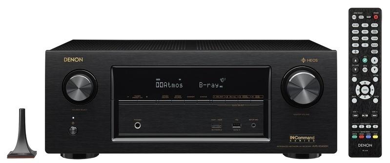 Denon ra mắt AV Receiver X-3400H với Dolby Atmos, DTS :X và cả HEOS không dây