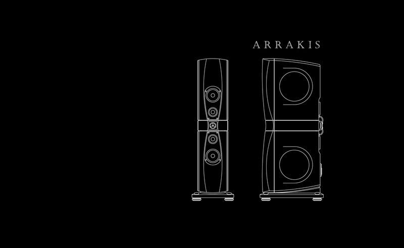 Loa cột hi-end Arrakis II: Hội tụ tinh hoa chế tác từ Rockport Technologies