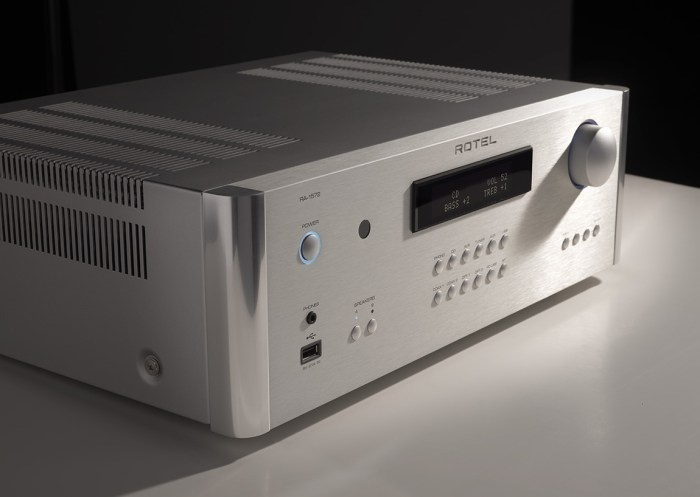 Rotel trình làng bộ ba CD, Pre-ampli và Ampli tích hợp mới trong Series 15