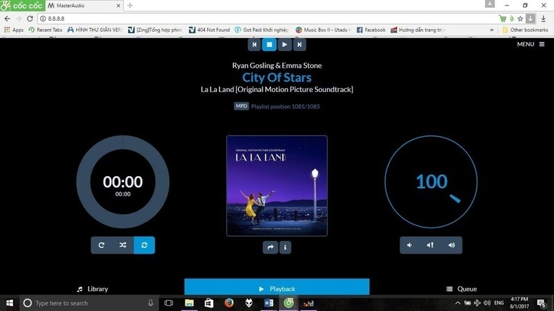 Trải nghiệm Master Audio MS9028M: máy chủ chơi nhạc
