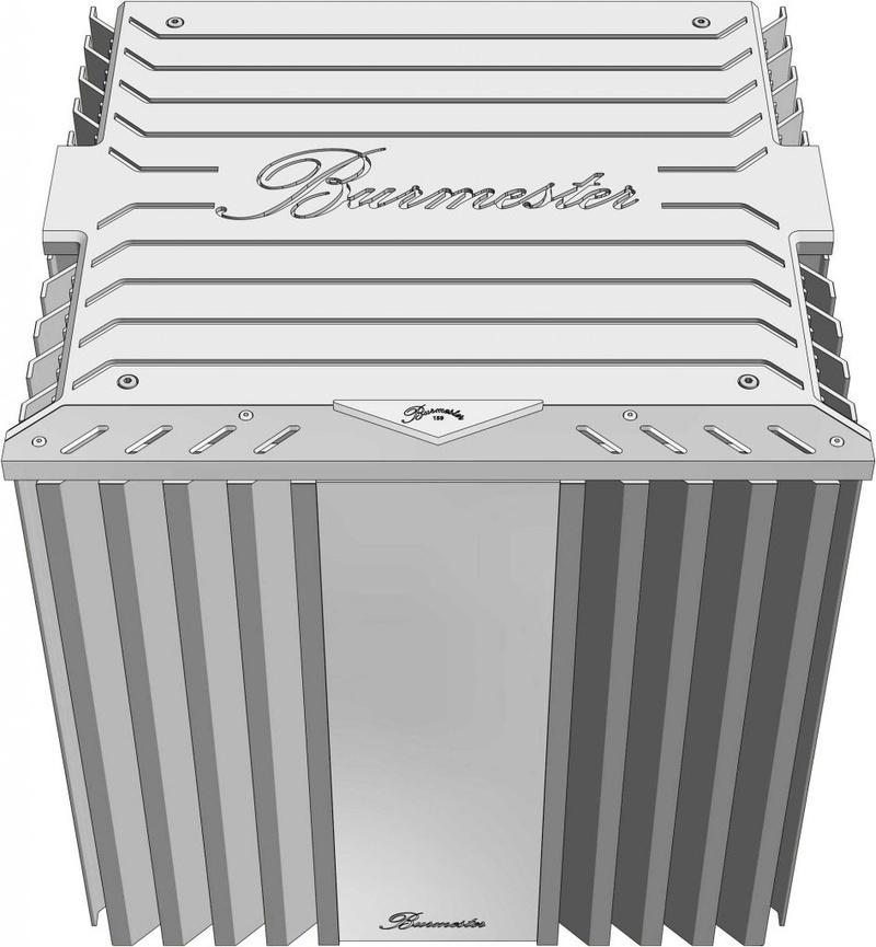 Burmester ra mắt ampli mono đầu bảng 159 Class A