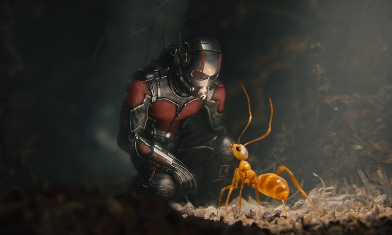 Marvel tung clip độc thông báo việc sản xuất Ant-Man 2.