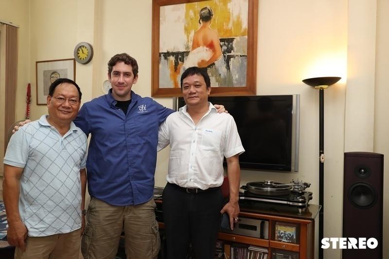 Đại diện hãng VPI thực hiện chuyến thăm và giao lưu với NSND Tiến Đạt