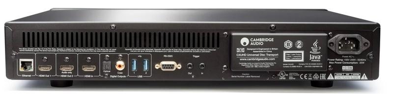 Cambridge giới thiệu đầu phát Blu-ray chuẩn 4K UHD mang tên CX UHD