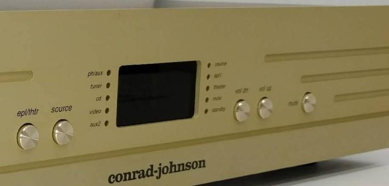 Pre-amp ET7: thành viên mới nhất của gia đình ampli đèn Conrad Johnson