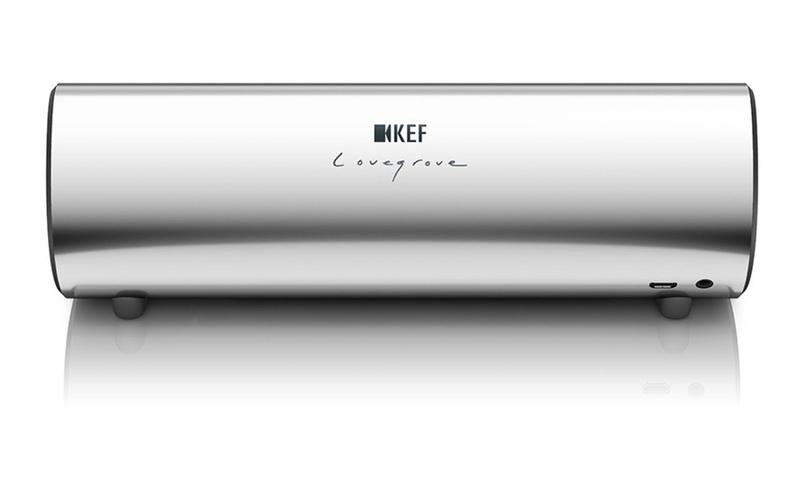 KEF ra mắt phiên bản màu crôm cao cấp cho loa di động Muo