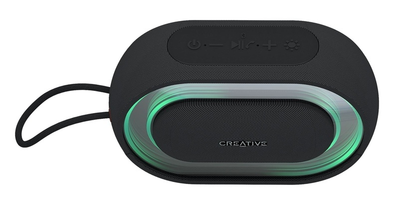 Creative giới thiệu loa di động Halo, tích hợp đèn led hiệu ứng có thể điều khiển