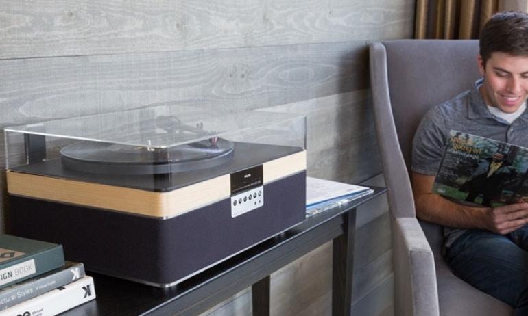 Dự án mâm đĩa than The +Record Player chuẩn bị cán đích trên Kickstarter