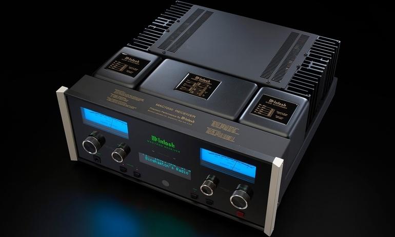 McIntosh ra mắt ampli tích hợp MA7200 và receiver MAC7200