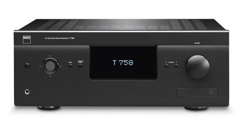NAD phát hành 2 AV receiver mới T 758 V3 và T 777 V3