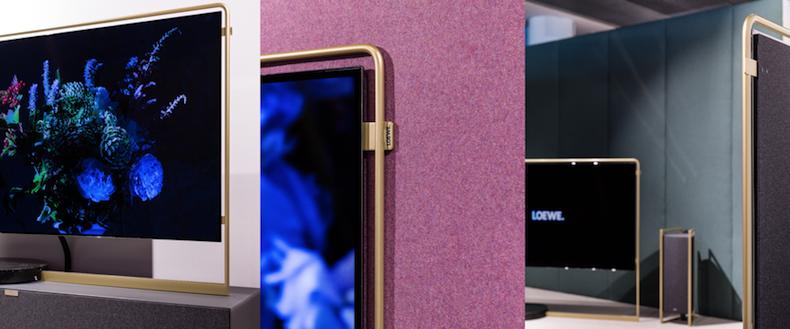 Loewe giới thiệu màn hình TV OLED siêu mỏng Bild X