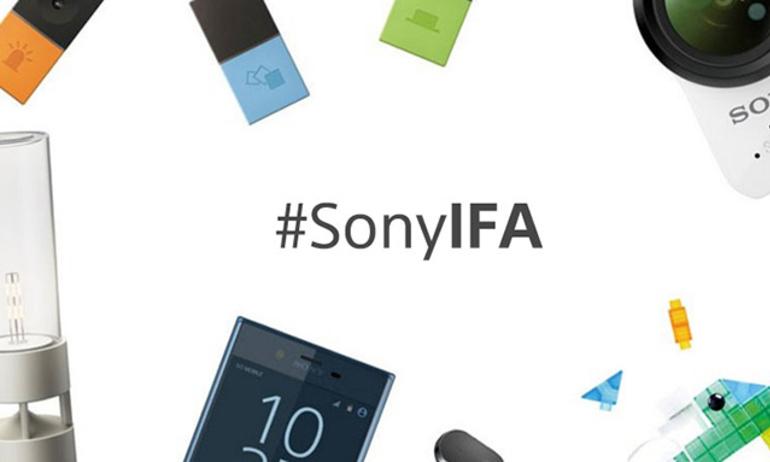Sony giới thiệu loạt sản phẩm mới tại IFA Berlin 2017