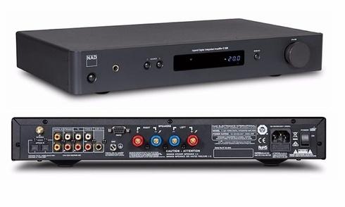 NAD Electronics ra mắt ampli tích hợp giá rẻ C 328