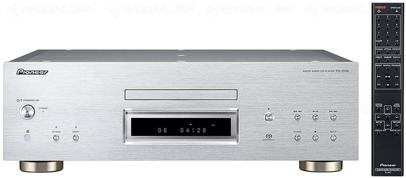 Pioneer công bố nguồn phát SACD đầu bảng PD-70AE, trang bị DAC giải mã DSD