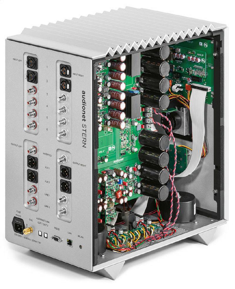 Preamp Stern & Ampli Heisenberg: Cú lột xác ngoạn mục của Audionet