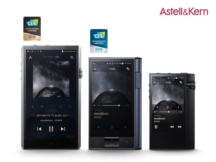 Astell & Kern sẽ trình làng bộ ba máy nghe nhạc mới tại CES 2018