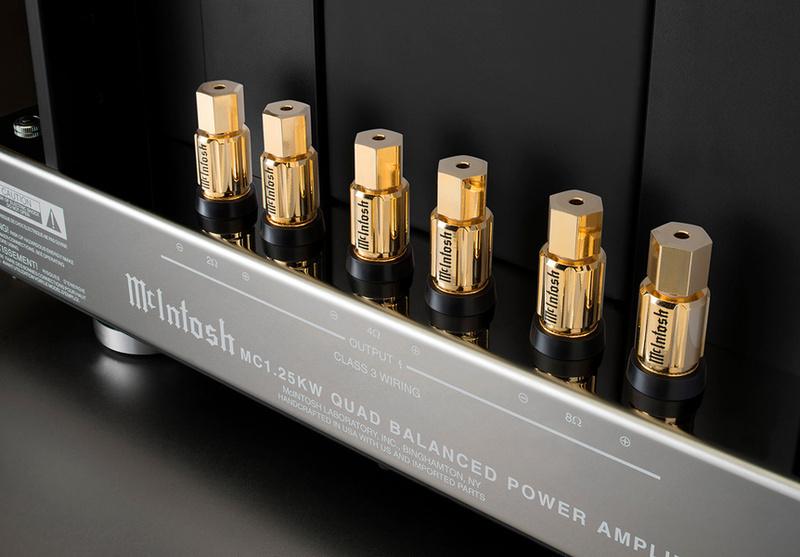 Ampli công suất McIntosh MC1.25KW: Quái vật mới của gã khổng lồ xanh