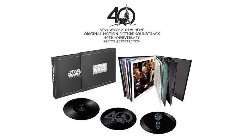 Walt Disney Records tung ra bộ đĩa nhựa đặc biệt, đánh dấu kỉ niệm 40 năm của phim Star Wars: A New Hope