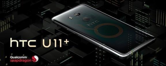 HTC U11 plus: Thiết kế toả sáng với viền siêu mỏng cùng cảm ứng cạnh viền độc đáo