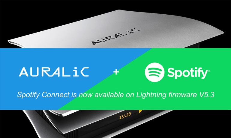 AURALiC bổ sung dịch vụ streaming trực tuyến Spotify Connect
