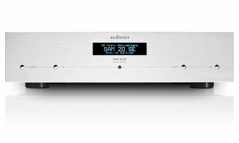 AudioNET kỷ niệm 20 năm bằng ampli tích hợp SAM 20 SE phiên bản giới hạn