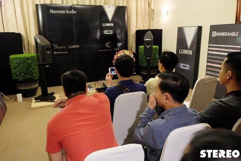 [Trải nghiệm Vietnam Hi-end Show 2017] P.10: Phòng nghe Norman Audio