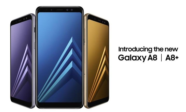 Samsung ra mắt A8 và A8 Plus, trang bị camera selfie kép