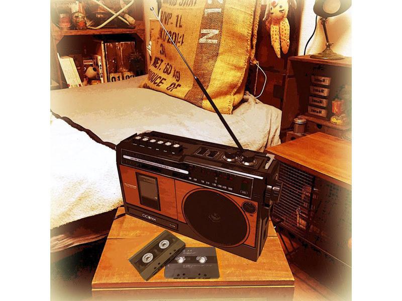 Ciconia TY-1710: Hoài cổ với đầu radio - cassette phong cách Showa Retro
