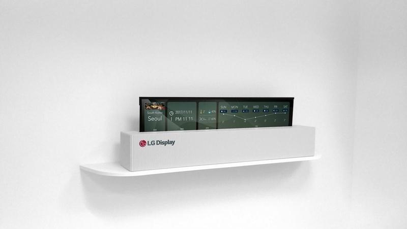 [CES2018] LG Display ra mắt TV OLED 65-inch có thể cuộn được
