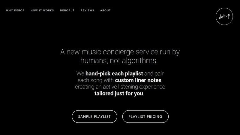 Khi không còn biết nghe gì, liệu bạn có dám chi tiền để được tư vấn một danh sách nhạc?