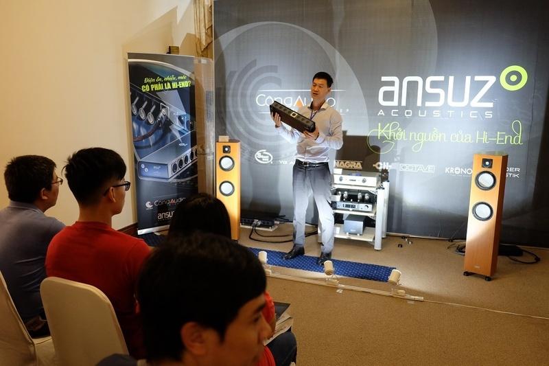 Bộ đôi Ansuz - Aavik: Giải mã thành công