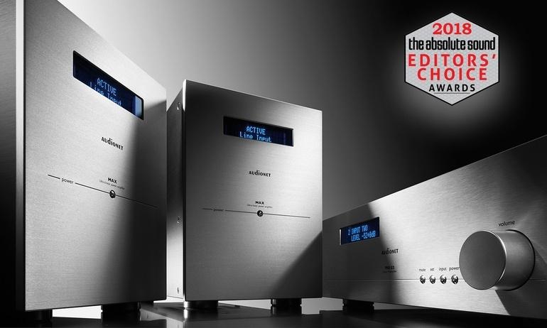 AudioNET Pre G2 và MAX nhận giải  Editor's Choice 2018 của tạp chí The Absolute Sound