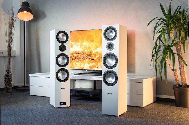 Canton GLE 496.2 Active BT: Loa không dây tương thích 4K, 3D, âm thanh vòm và HDMI