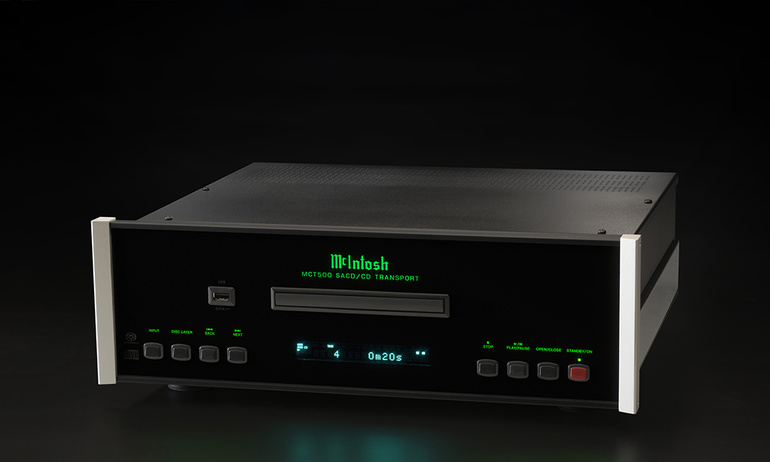 McIntosh ra mắt SACD/CD Transport cao cấp MCT500