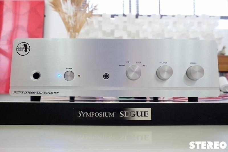 Ampli tích hợp Rogue Audio Sphinx V2: Giá rẻ, lực tốt, chất hay