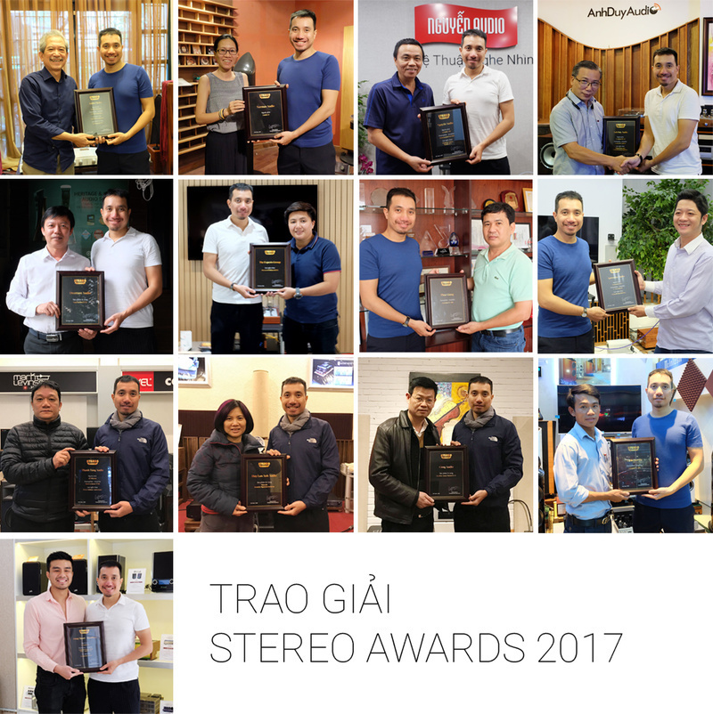 STEREO trao tặng  chứng nhận STEREO AWARDS 2017