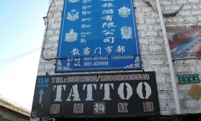 Đi tìm Tattoo ở Tibet
