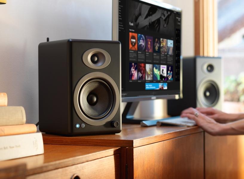 Audioengine trình làng loa không dây A5+ Wireless: Chất lượng tốt, giá phù hợp