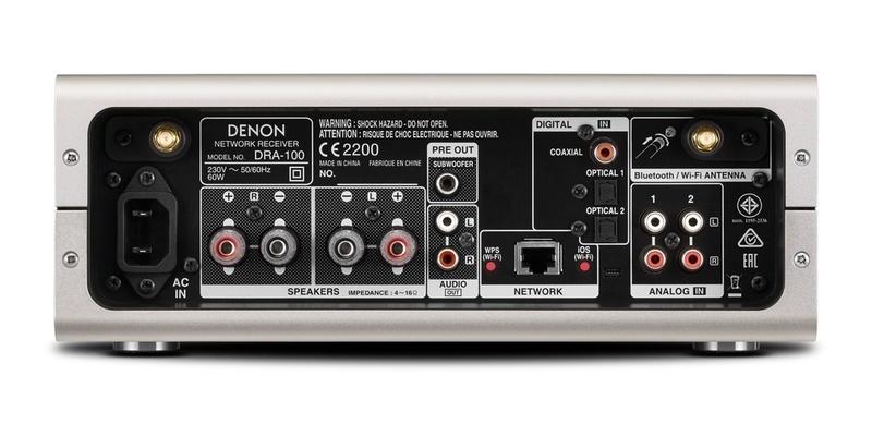 Denon DRA-100: Ampli tích hợp thế hệ mới, nhỏ gọn, đa năng