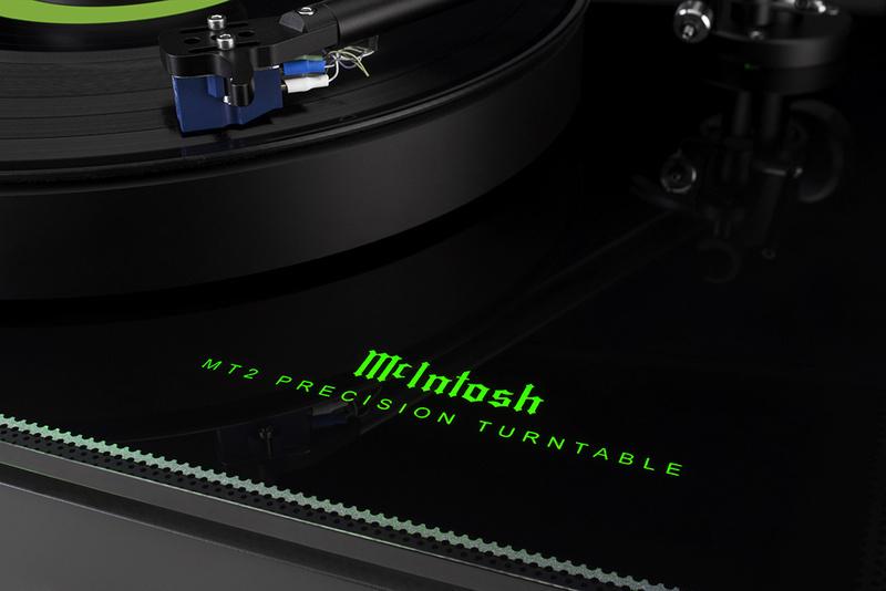 MT2 Precision Turntable: Thành viên mới của dòng mâm đĩa than McIntosh