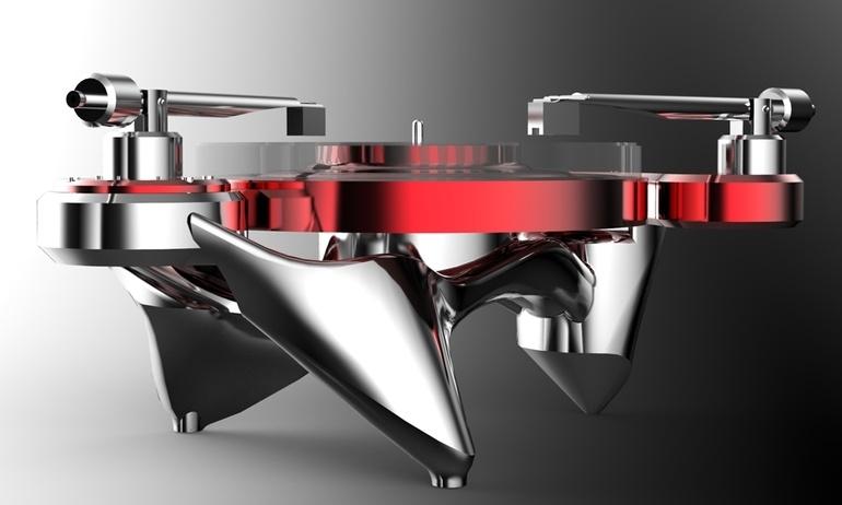 Metaxas & Sins giới thiệu mâm đĩa 35.000 USD Phonographic Perambulator
