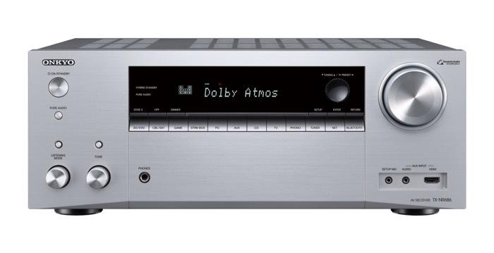 Onkyo tung ra TX-NR686: AV receiver thế hệ mới cho năm 2018