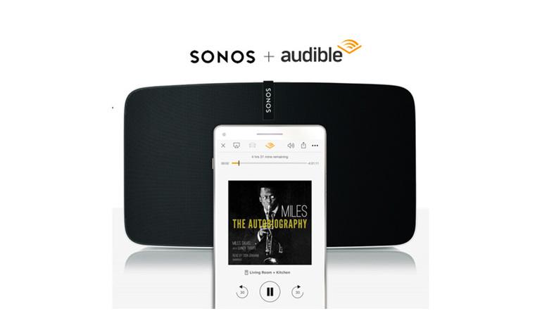 Audible đã có mặt lại trên loa thông minh Sonos